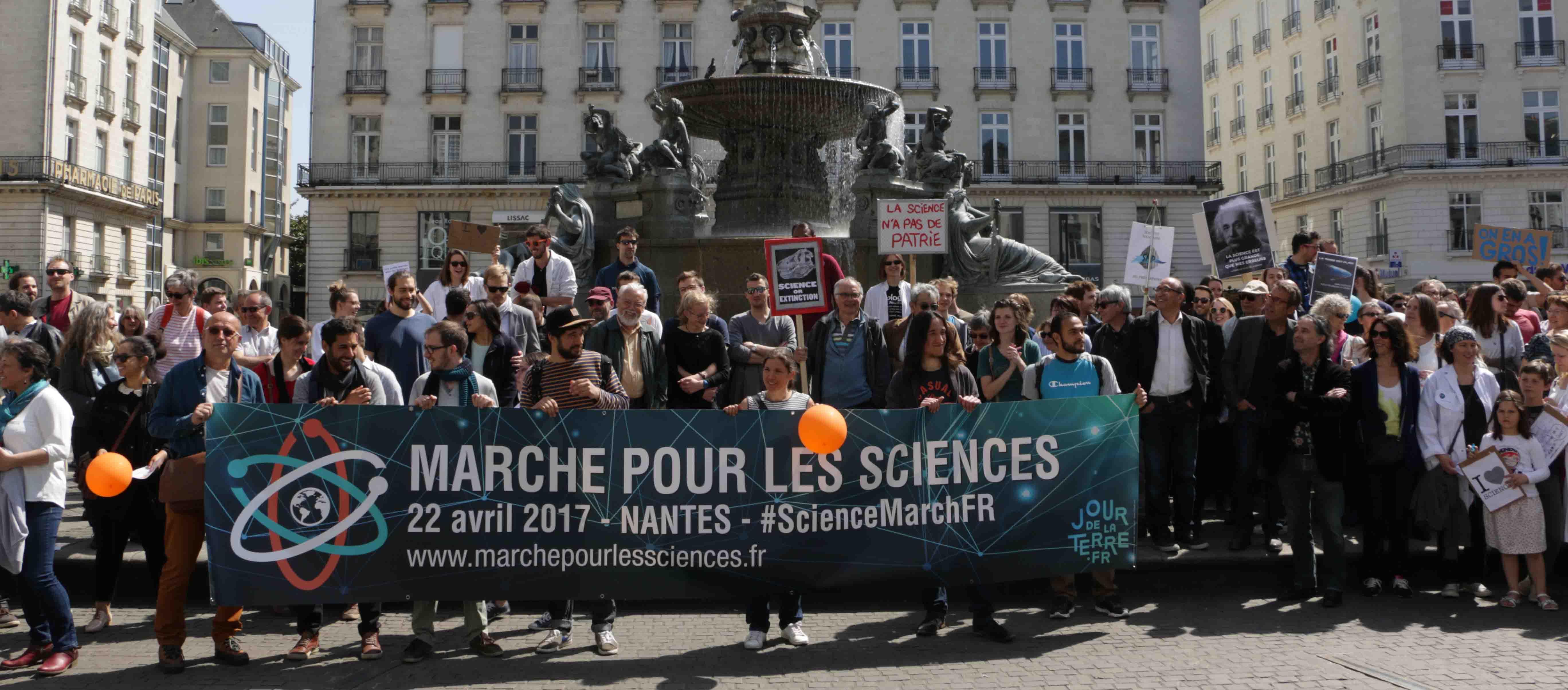 Marche pour les sciences Nantes