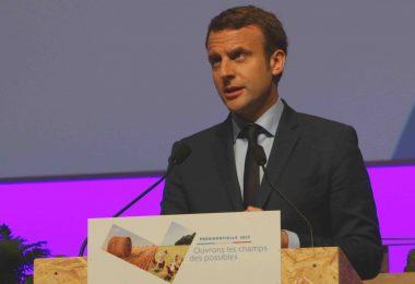 Macron Melenchon Nantes Zénith