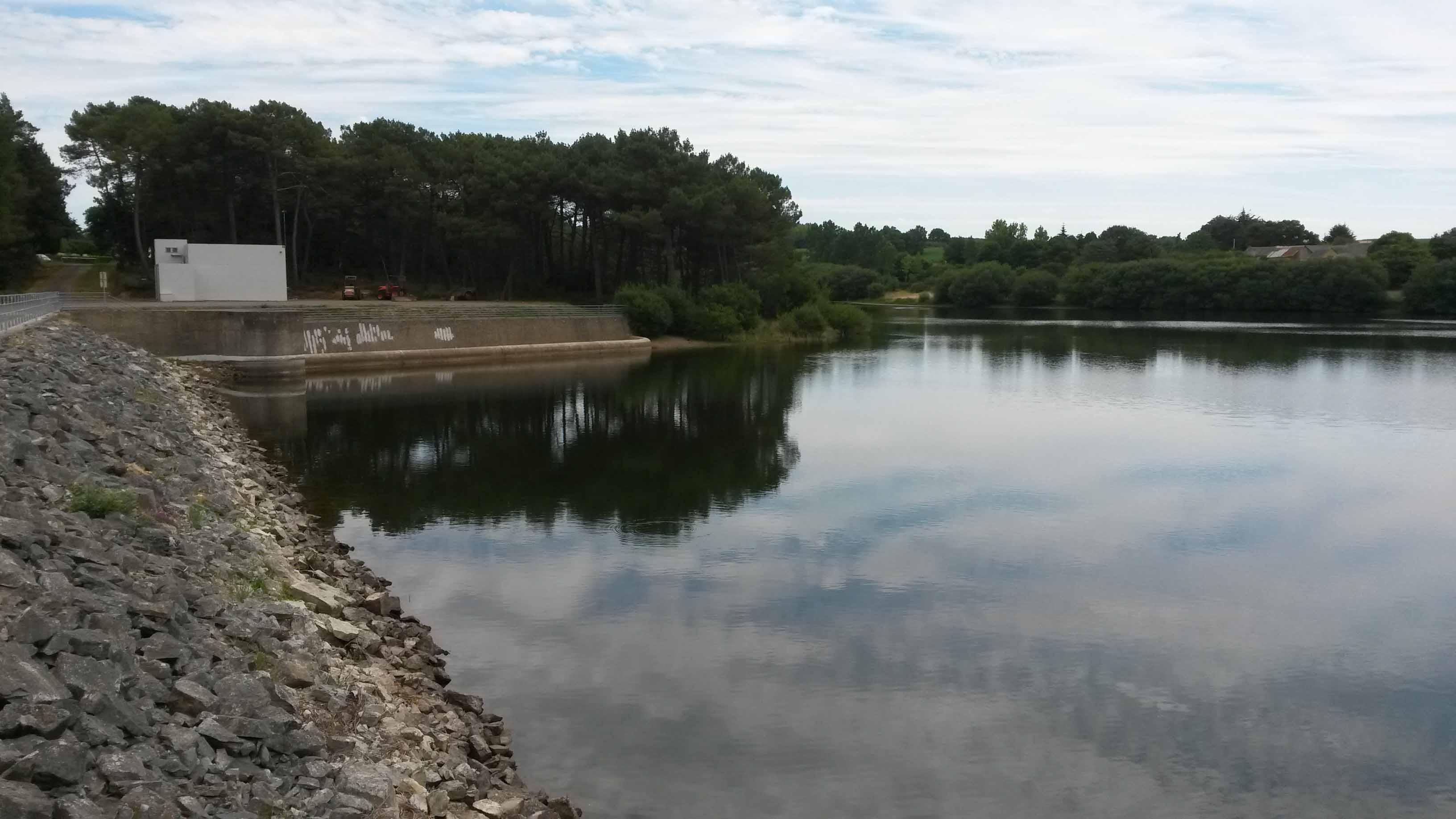 Barrage de la Chèze eau potable rennes