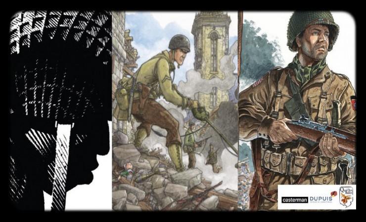 Rennes. Une exposition Bande dessinée intitulée : « Vers la liberté : parcours américain (1944-1945) »