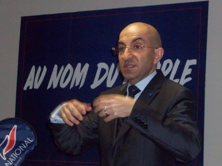 Jean Messiha, l'éminence grise de Marine Le Pen, explique son projet à Nantes