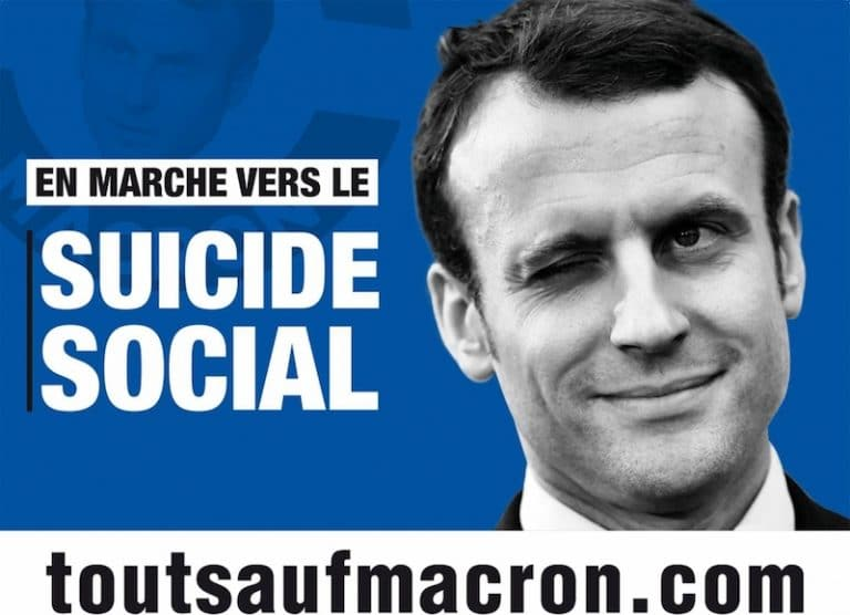 La Manif Pour Tous appelle à voter contre Emmanuel Macron