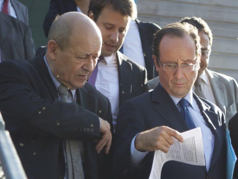 Quand Le Drian a laissé tomber Hollande