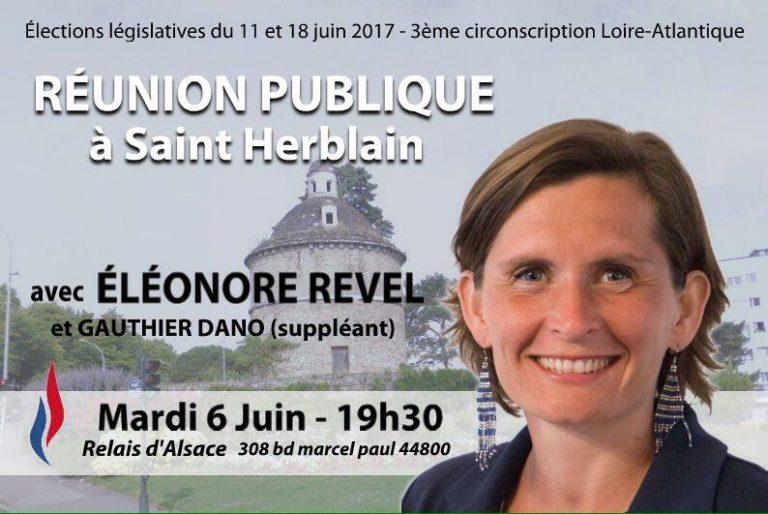 Nantes. Eleonore Revel (FN) : « rétablir nos frontières, les défendre et contrôler les entrées »