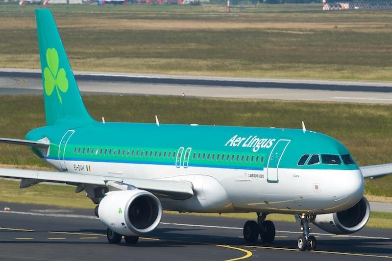 Aer Lingus A320 EI-DVH