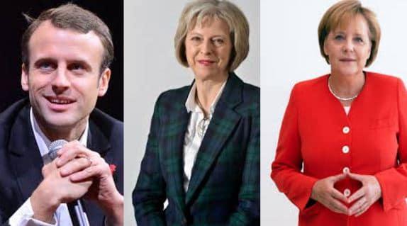 L'Angleterre, l'Allemagne et la France : trois pays dirigés par des leaders sans enfant