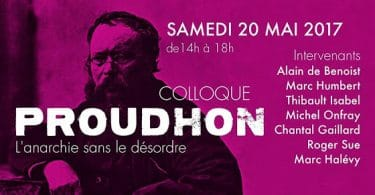 Proudhon colloque Krisis Eléments