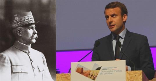 Paul Ricœur Pétain Emmanuel Macron