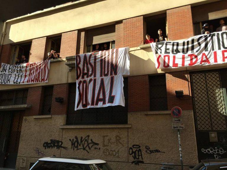 Bastion social à Lyon. Une réquisition solidaire pour les Français démunis