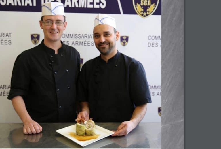 Concours culinaire interarmée (Trident d'or) : deux cuisiniers bretons en finale !