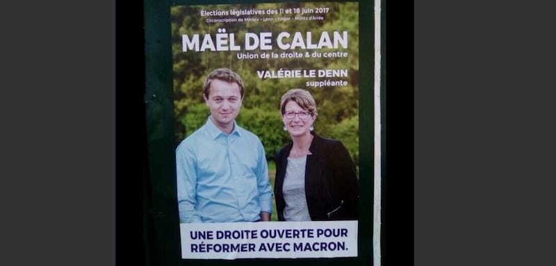 morlaix  ma u00ebl de calan veut  u00ab r u00e9former avec macron  u00bb et torpille la droite bretonne