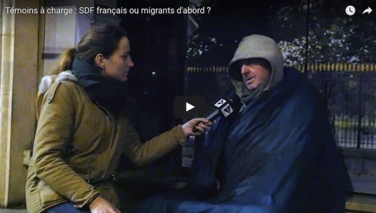 Témoins à charge  : SDF français ou migrants d'abord ? [Reportage vidéo]