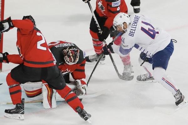 Championnat du monde de Hockey sur Glace : la France frôle l'exploit face au Canada (2-3)