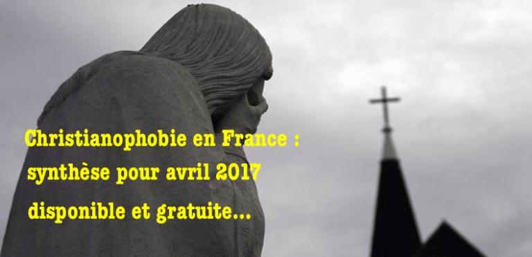 Les actes anti-chrétiens explosent en France !