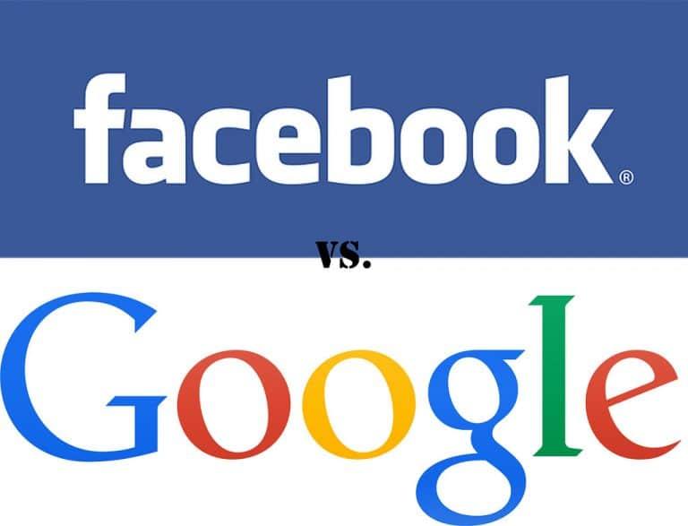 Trafic web. Facebook et Google dominent le jeu