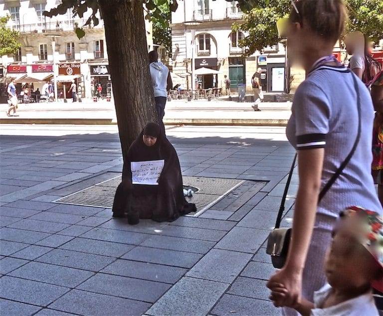 Nantes: la mendicité «musulmane» s'installe dans le centre-ville et les marchés