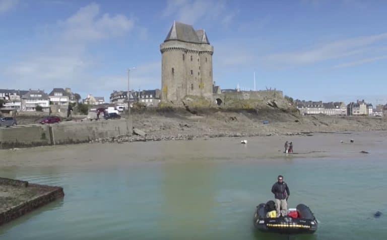 Saint-Malo. Albatros lines navigation : une autre façon de découvrir la Côte d'Emeraude et la vallée de la Rance [Vidéo]