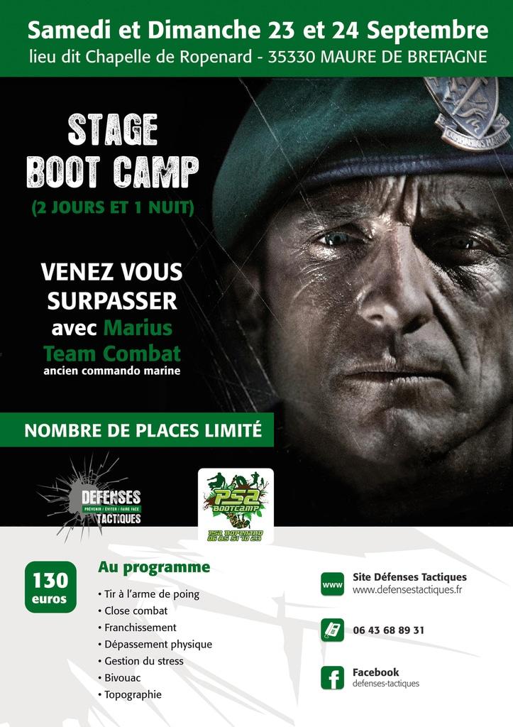 Maure de Bretagne (35). Un stage boot-camp avec un commando marine, en septembre