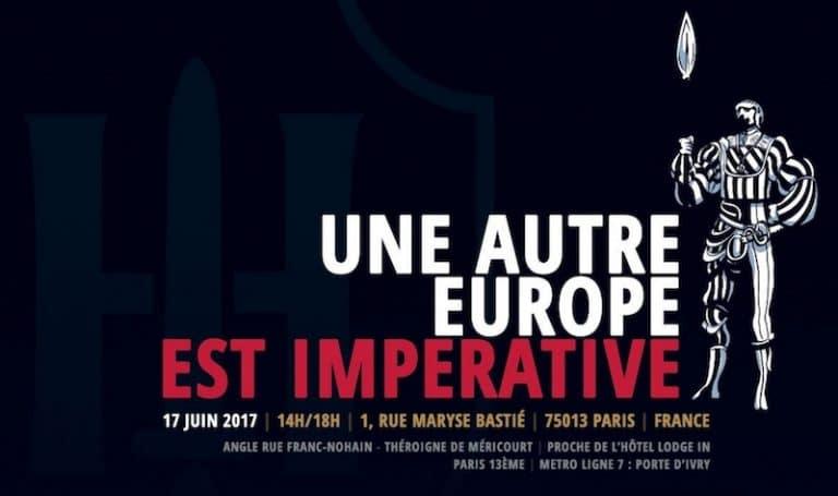 Samedi 17 juin à Paris. « Une autre Europe est impérative », par Gabriele Adinolfi [Interview]