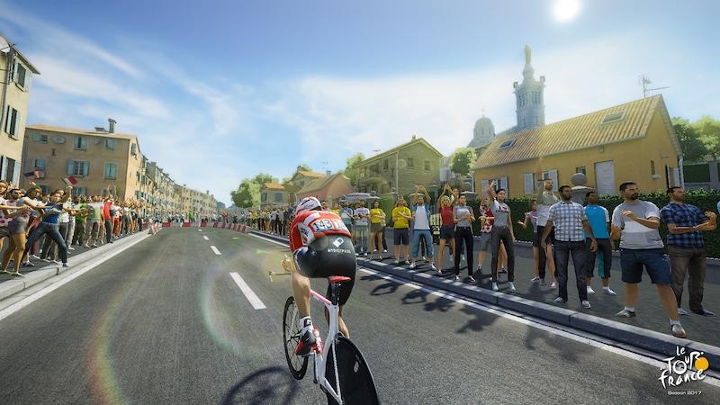 cyclisme le tour de france 2017 est lanc en jeu vid o. Black Bedroom Furniture Sets. Home Design Ideas