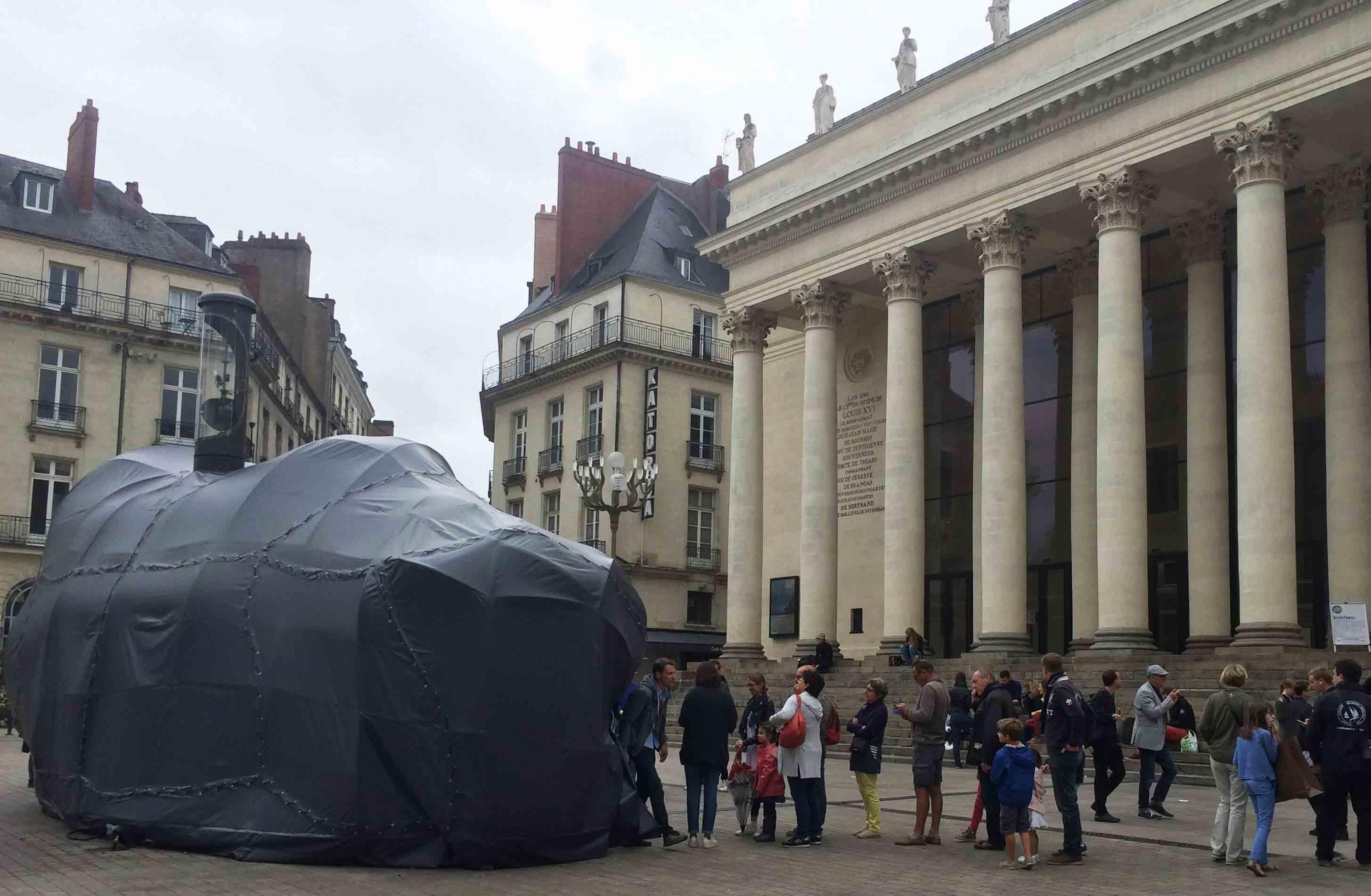 Voyage à Nantes Place Graslin