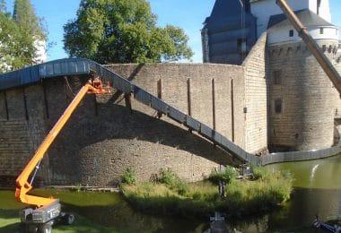Toboggan du château de Nantes : l'œuvre d'art qui blesse ses admirateurs