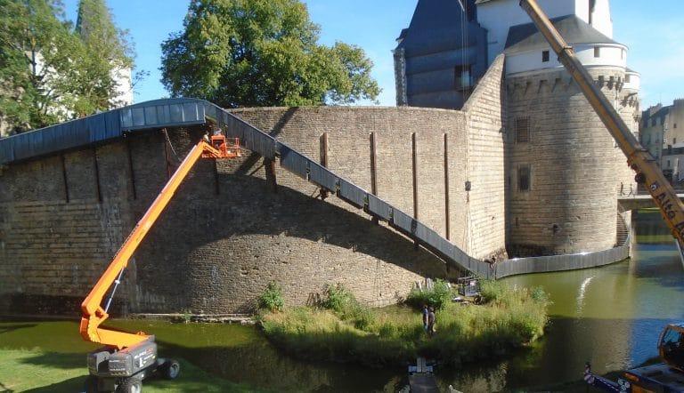 Toboggan du château de Nantes: l'œuvre d'art qui blesse ses admirateurs