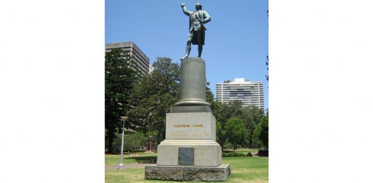 Australie. Virulent débat autour d'une statue de James Cook