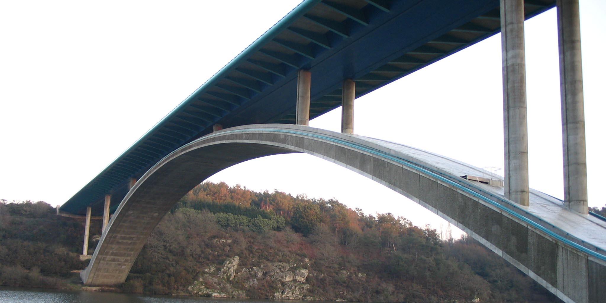 Pont du Morbihan Chute voiture
