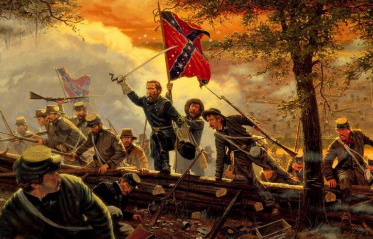 Charlottesville. Histoire : Les Français dans la guerre de Sécession