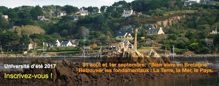 Université d'été de l'Institut de Locarn : « Notre problème, c'est la France, notre chance, c'est la Bretagne ! »