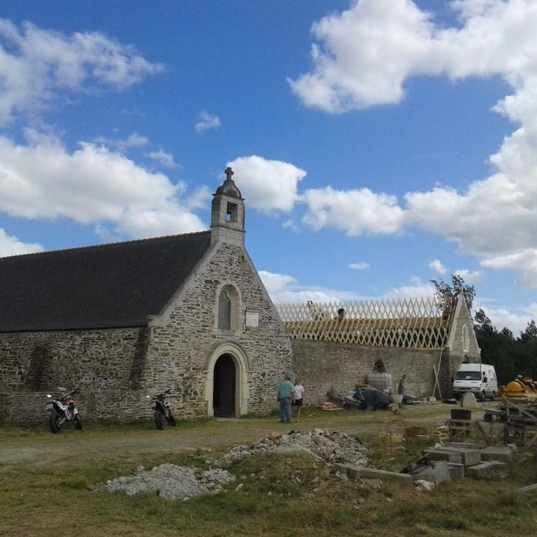 La Chapelle Basse-Mer: le mémorial des guerres de Vendée a un toit