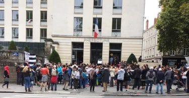 Manifestation Diwan Nantes Préfecture