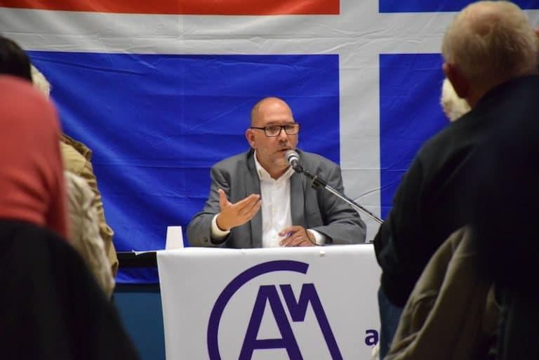 Saint-Malo. 70 personnes à la conférence de Marc Ezrati sur la sécurité publique et la police
