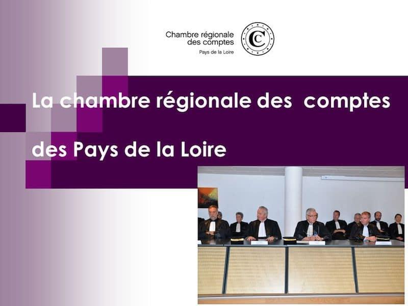 La chambre régionale des comptes des Pays de la Loire