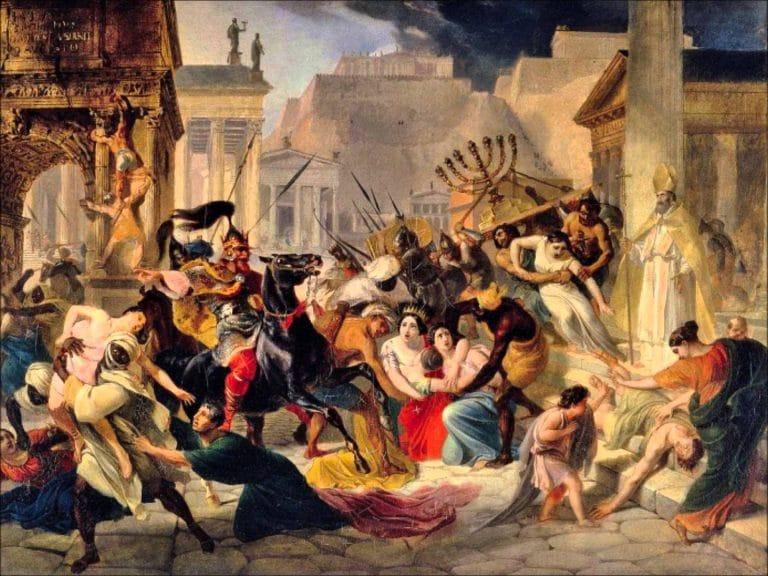 La chute de l'empire romain : mythe ou réalité ? Réponse avec Bertrand Lançon, historien [Interview]