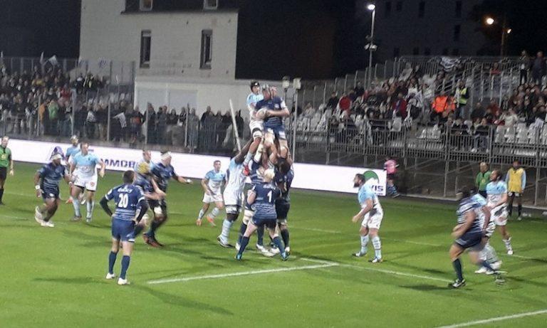 Le RC Vannes s'impose avec brio face à Bayonne (38-22)
