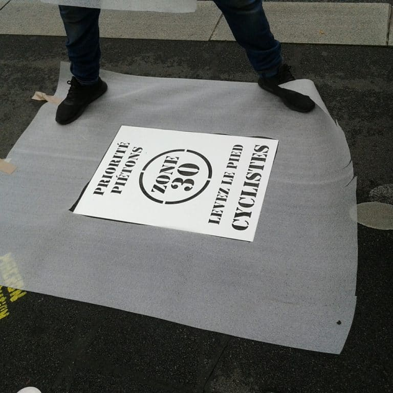 Cyclistes dangereux : la mairie de Nantes se décide à agir cours des 50 otages