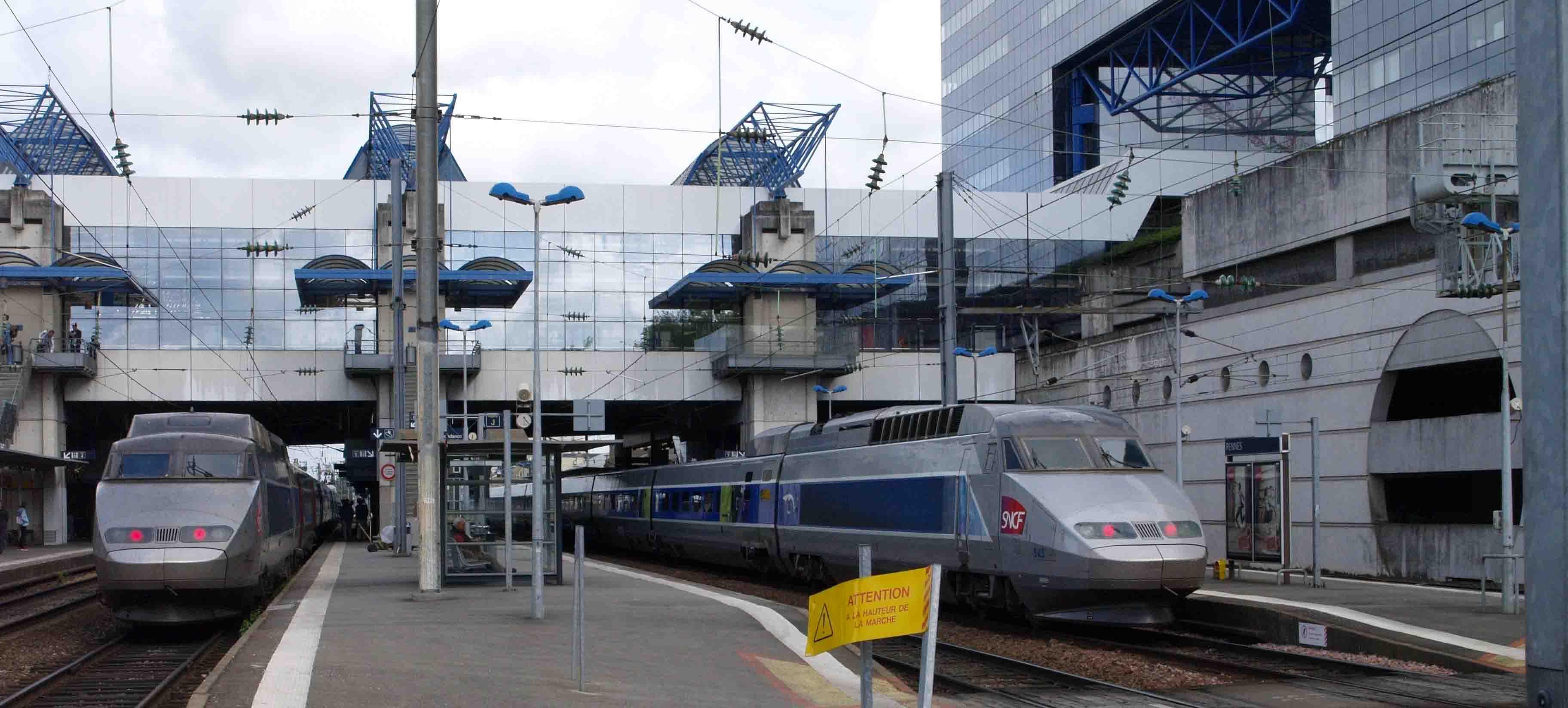 Gare de Rennes Ouigo Montparnasse