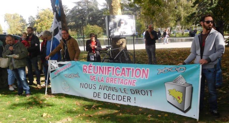 Nantes: pour la réunification de la Bretagne, l'extrême gauche n'a pas fait recette