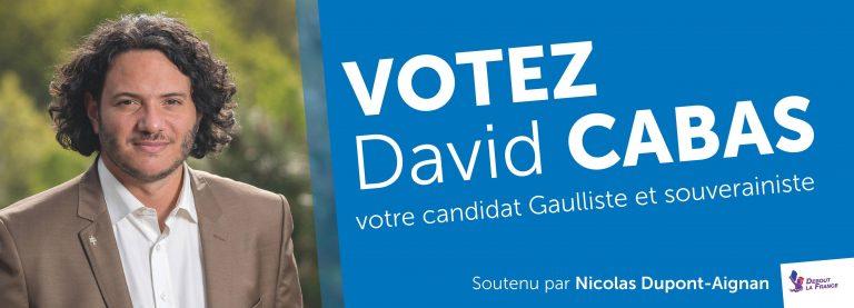 Morbihan. David Cabas, nouveau secrétaire départemental de Debout la France