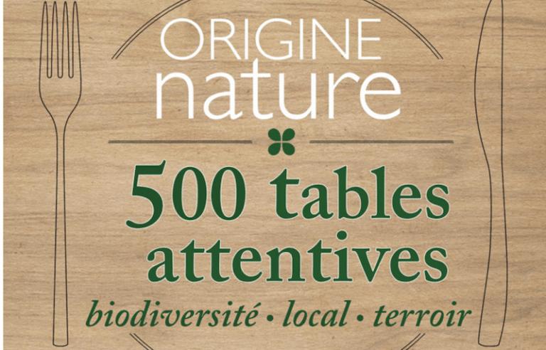 Origine nature. Un guide qui référence les restaurants bio et respectueux du terroir