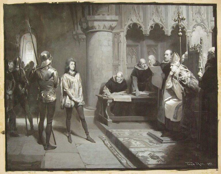 Rennes. Le procès de Jeanne d'Arc raconté le 6 novembre par Maître Trémolet de Villers