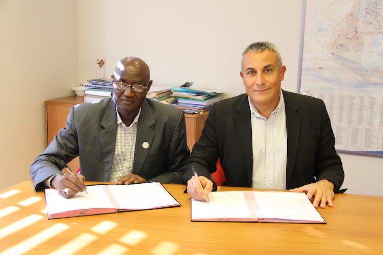 Saint-Herblain signe un accord de coopération-jumelage avec N'Diaganio (Sénégal)