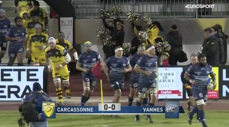 Rugby. Le RC Vannes s'impose (enfin) à l'extérieur contre Carcassonne (27-30)