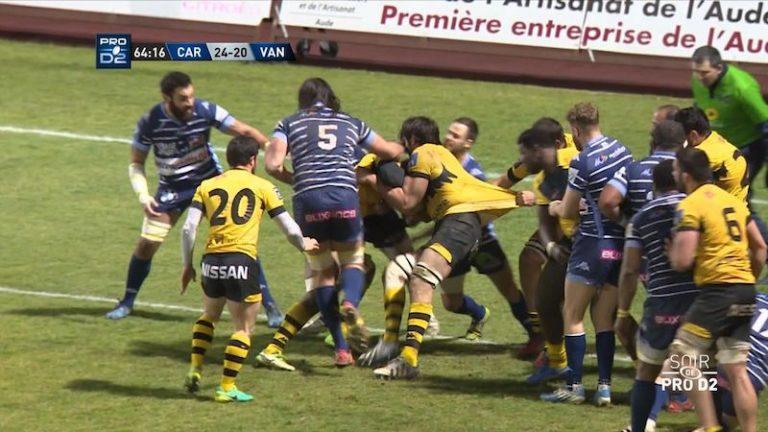Rugby. Le RC Vannes doit faire un résultat à Carcassonne avant la trève