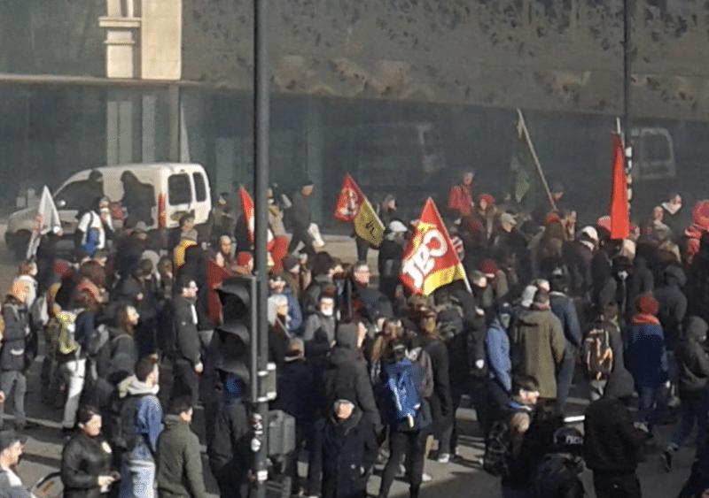 Loi travail : moins de 9000 manifestants en Bretagne