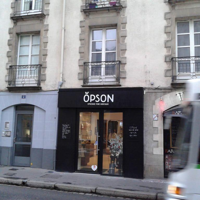 Opson, ou le meilleur de la Grèce à Nantes