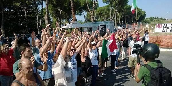 Rome. Opposés à l'arrivée de migrants, 7 militants de Casapound sont condamnés à 3 ans de prison ferme