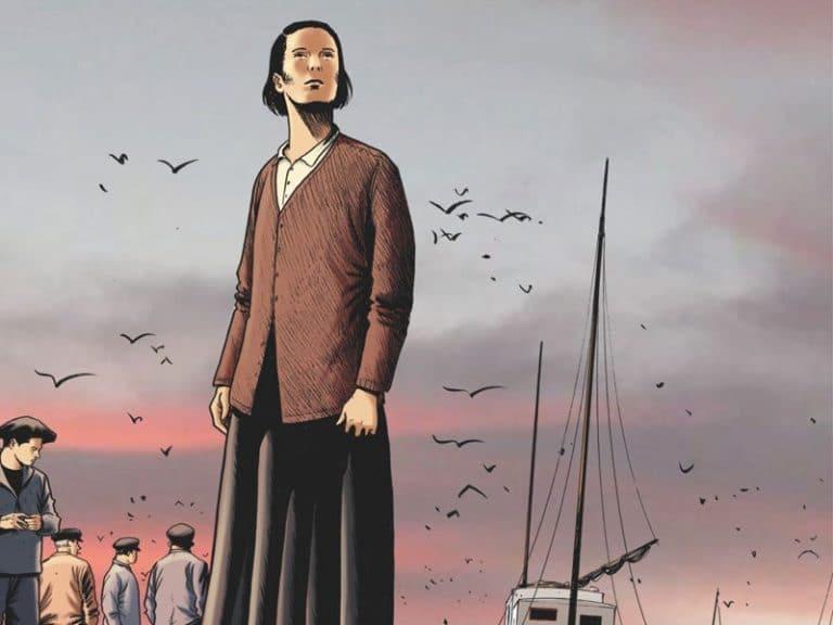 «Les chasseurs d'écume» , ou la vie difficile des pêcheurs de Douarnenez  (bande dessinée)